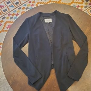 NWOT Bcbgeneration black stretch jersey blazer S
